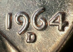 Click now to see the BUY IT NOW Price! 1964 D/D/D/D LINCOLN MEMORIAL CENT RPM 016 B/U