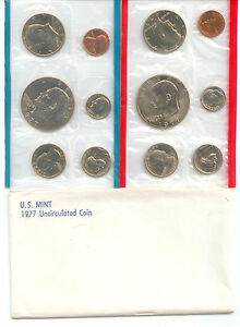 1977 US P&D MINT SET      $1.5 MILLION IN EBAY SALES ZZ1