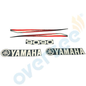 Yamaha Outboard 90 Decal Sticker two stroke Kit Marine vinyl available 70 /& 80