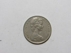 AUSTRALIA COIN   1972 10 CENTS   CIRCULATED