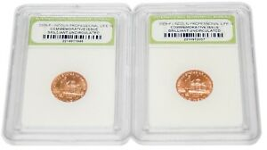 PACK OF TWO  2  BU 2009 P LINCOLN BICENTENNIAL PENNY ONE CENT 1C COMM ISSUE