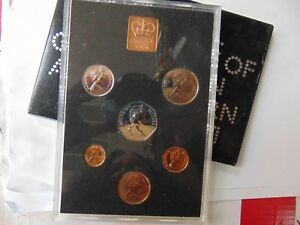 1971 THE DECIMAL COINAGE OF GREAT BRITAIN & NORTHERN IRELAND MINT PROOF SET SALE