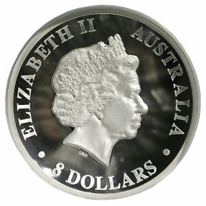 Click now to see the BUY IT NOW Price! 2015 AUSTRALIAN KANGAROO $8 AU NGC PF70 SILVER PROOF HIGH RELIEF COIN 5 TROY OZ
