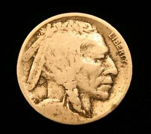 1913 D TYPE 2 BUFFALO NICKEL  CIRCULATED
