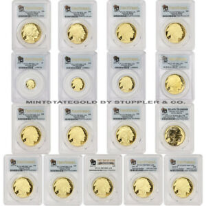 Click now to see the BUY IT NOW Price! SET OF 17 2006 W TO 2018 W GOLD BUFFALO PCGS PR70DCAM FIRST STRIKE PROOF COINS