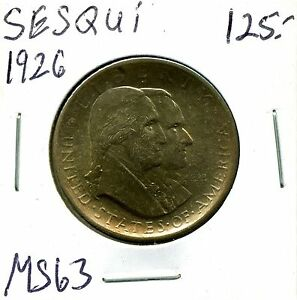 1926 50C SESQUICENTENNIAL HALF DOLLAR IN SELECT UNCIRCULATED CONDITION