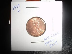 1997 D LINCOLN CENT PENNY