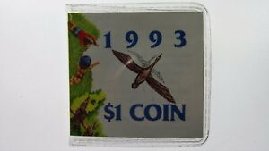 1993 LAND CARE ONE DOLLAR C MINT MARK UNCIRCULATED COIN