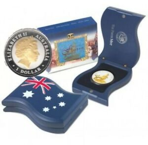 Click now to see the BUY IT NOW Price! 2004 PERTH MINT 'ROYAL VISIT 50TH ANNIVERSARY FLORIN' 1OZ SILVER PROOF COIN