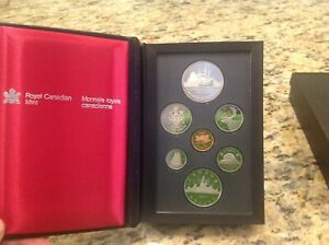 1987 ROYAL CANADIAN PROOF SET THE 400TH ANNIVERSARY OF JOHN DAVIS BAFFIN ISLAND