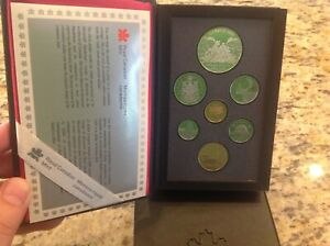 1989 ROYAL CANADIAN MINT PROOF SET SIR ALEXANDER MACKENZIE'S NORTHWEST OF CANADA