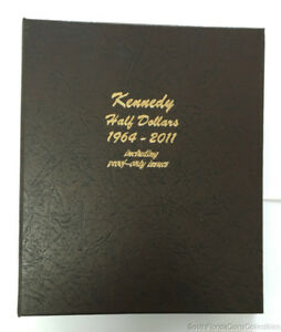 Click now to see the BUY IT NOW Price! DANSCO KENNEDY HALF DOLLAR BOOK 1964 1985 INCLUDING PROOF ONLY ISSUES