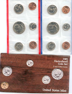 1985 US P&D MINT SET $1.5 MILLION IN EBAY SALES ZF1