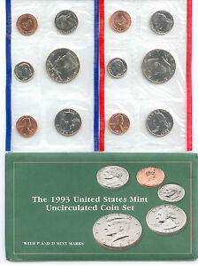 1993 US P&D MINT SET      $1.5 MILLION IN EBAY SALES ZF1