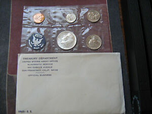 1965 US SPECIAL MINT SET PROOF LIKE COINS $1.5 MILLION IN EBAY SALES ZF1