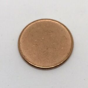 BLANK LINCOLN PENNY CENT PLANCHET MINT ERROR COIN