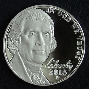 2018 S PROOF JEFFERSON NICKEL  ULTRA CAMEOS  FRESH FROM PROOF SET