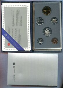 CANADA   1986   PROOF SET   7 COINS   PROOF   CASE BUT NO COA