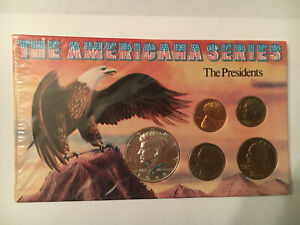 THE AMERICANA SERIES: THE PRESIDENTS COIN COLLECTION   SEALED AUTHENTICITY