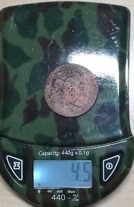 1795 LIBERTY CAP PLAIN EGDE HALF CENT 1/2C DETAILS CLEANED/CORRODED