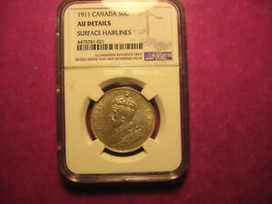 Click now to see the BUY IT NOW Price!  1911 CANADA 50C  AU