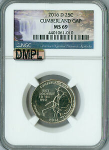 Click now to see the BUY IT NOW Price! 2016 D CUMBERLAND QUARTER NGC MAC MS 69 DMPL FINEST GRADED .