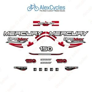 Mercury New Outboard Decal Sticker Kit 150 HP Blue