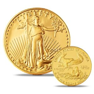 $5 GOLD AMERICAN EAGLE 2018 UNCIRCULATED GOLD COIN 1/10OZ GOLD.