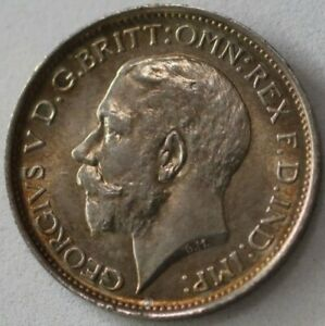 4 PENCE 1911 GEORGE V MAUNDY SILVER GREAT BRITAIN