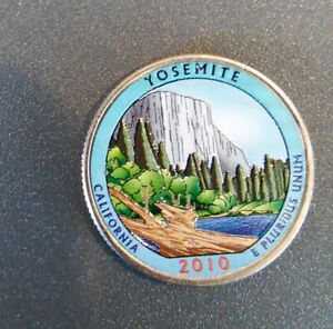 2010 P YOSEMITE COLORIZED QUARTER  CALIFORNIA