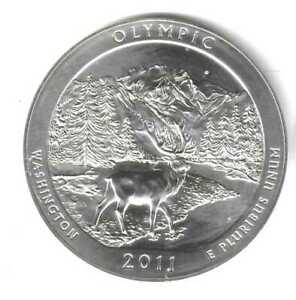 2011 OLYMPIC 5 OZ SILVER AMERICA THE BEAUTIFUL QUARTER