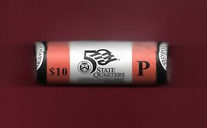 USA STATE QUARTER 2002 BU 40 COINS MINT ROLL INDIANA CROSS ROADS OF AMERICA 1816