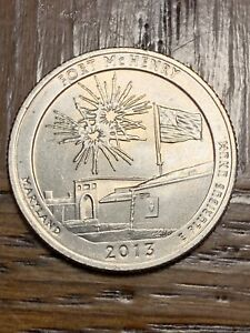 2013 FORT MCHENRY QUARTER