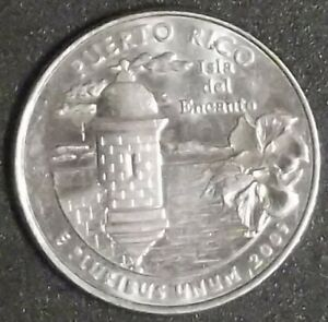 >> US 2009 D WASHINGTON QUARTER FEATURING PUERTO RICO