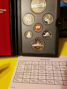 CANADIAN DOUBLE DOLLARS SILVER PROOF SET