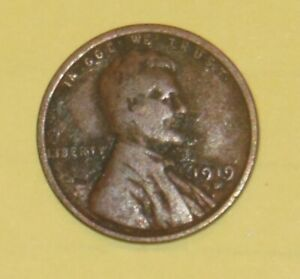 LINCOLN WHEAT PENNY 1919 D 246