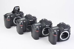 4X FOR PARTS OR REPAIR NIKON D90 12.3MP DSLR BODY ONLY POWER UP ERROR  READ