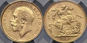 Click now to see the BUY IT NOW Price! AUSTRALIA  1926 SYDNEY SOVEREIGN   PCGS MS63