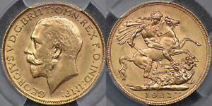 Click now to see the BUY IT NOW Price! AUSTRALIA 1921 MELBOURNE SOVEREIGN   PCGS MS62
