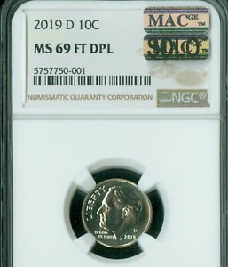 Click now to see the BUY IT NOW Price! 2019 D ROOSEVELT DIME NGC MS69 FT DPL SOLO FINEST GRADED IN 425 000 ROOSEVELTS .