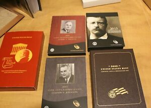 2014 TRUMAN CHRONICLES COMPLETE SET REAGAN KENNEDY LINCOLN ROOSEVELT EISENHOWER