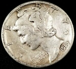 1927 S MERCURY DIME  A NICE LOOKING COIN