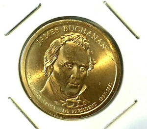 2010 P JAMES BUCHANAN PRESIDENTIAL DOLLAR BRILLIANT UNCIRCULATED COIN US