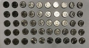 SELLERS LOT OF 2017 AND 2014 D MINT ROOSEVELT DIMES IN BU CONDITION