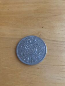 1961 ELIZABETH LL TWO SHILLINGS OR FLORIN COIN