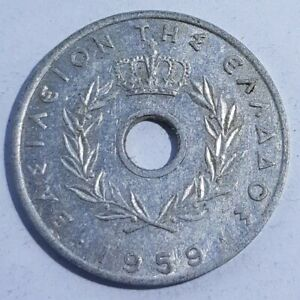 OLD COIN 1959 POSSIBLY GREEK