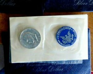 1971 1973 1974 BLUE PACK EISENHOWER SILVER DOLLARS CHOICE OF DATES