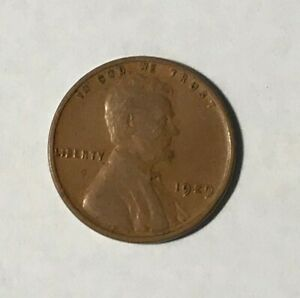 LINCOLN WHEAT PENNY 1929 P
