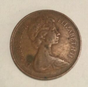 1971 UK BRITISH 2 NEW PENCE ELIZABETH II FOREIGN COIN D5