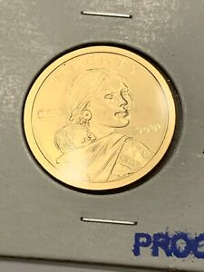 2000 S US CAMEO PROOF SACAGAWEA GOLDEN DOLLAR